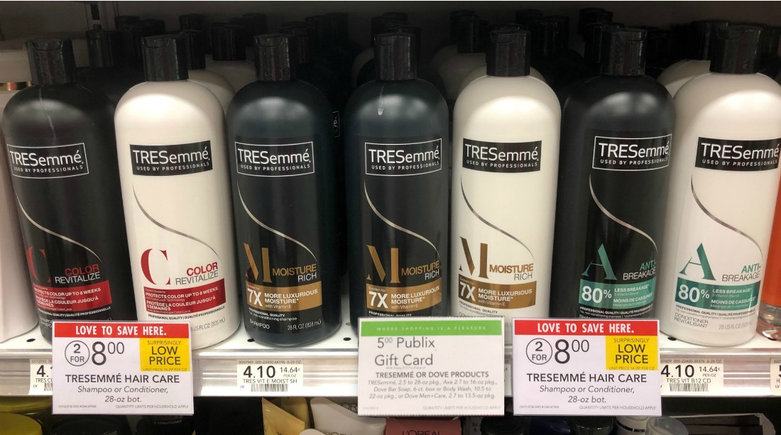 FREE TRESemme Hair Care Products At Publix on I Heart Publix 2