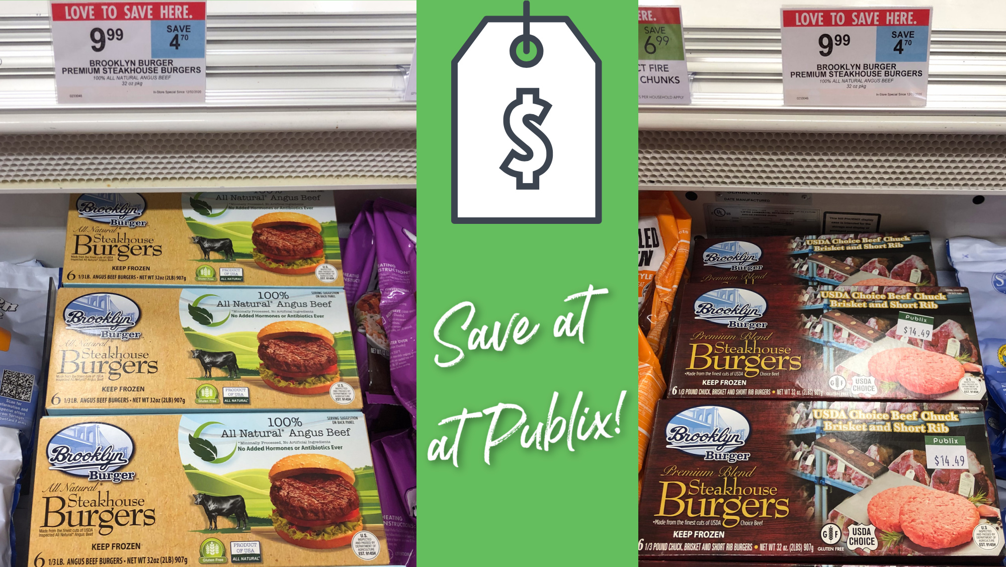 Brooklyn Burger Steakhouse Burgers Are Just $9.99 This Week At Publix - Stock Your Freezer For The Busy Holiday Season! on I Heart Publix