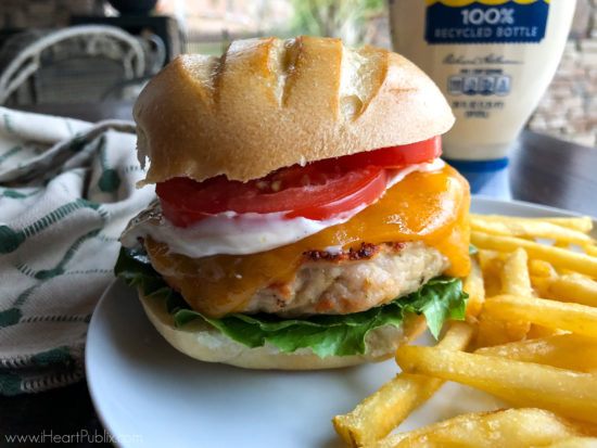 Enjoy These Golden Onion Turkey Burgers & Grab Savings At Publix on I Heart Publix