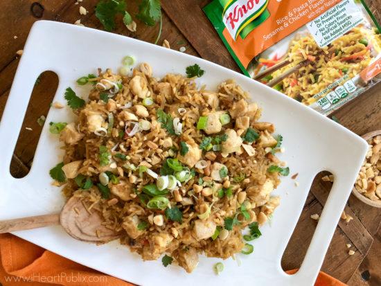 Peanut Chicken Fried Rice on I Heart Publix
