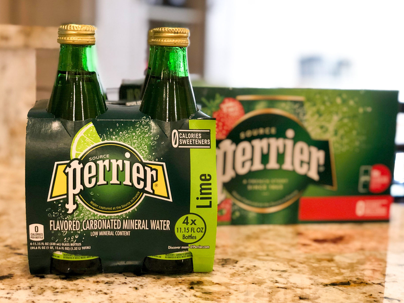 PERRIER® Sparkling Natural Mineral Water Slim Cans 10-Pack Just $3.49 At Publix on I Heart Publix 2