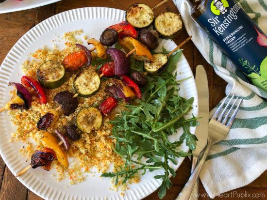 Roasted Vegetable Skewers on I Heart Publix 3