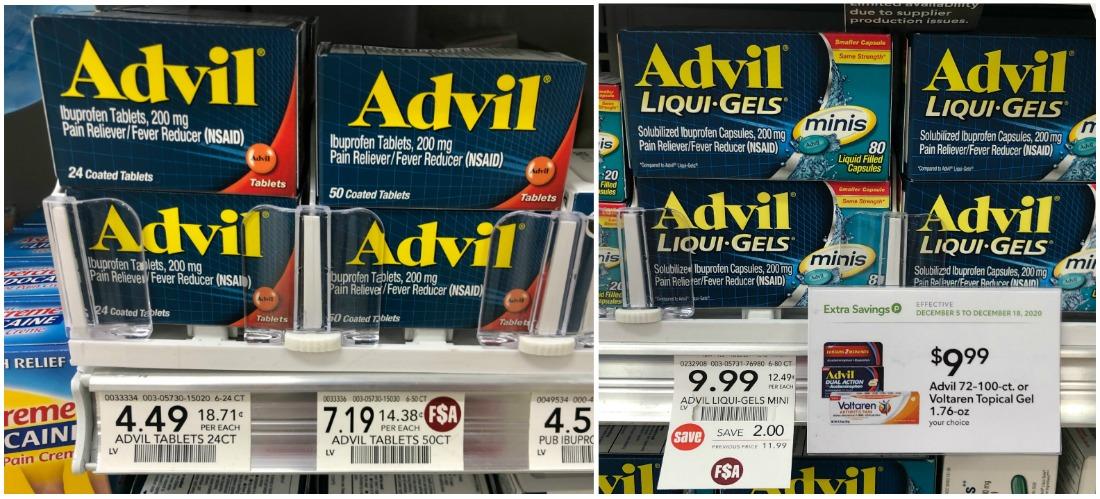Advil Deals - As Low As $3.49 At Publix on I Heart Publix