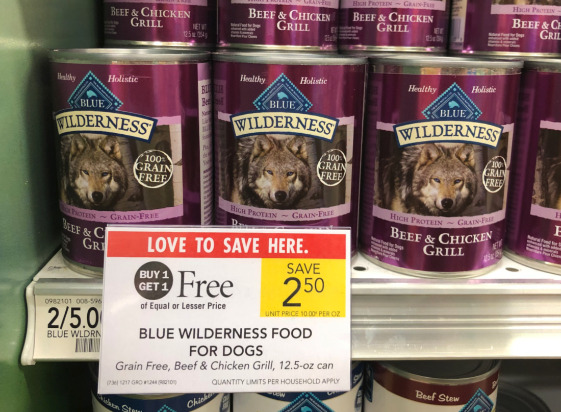 Blue Wilderness Dog Food Just 75¢ Per Can At Publix on I Heart Publix 1