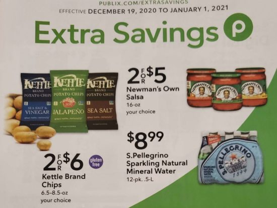 Publix Extra Savings Flyer Valid 12/19 to 1/1 on I Heart Publix