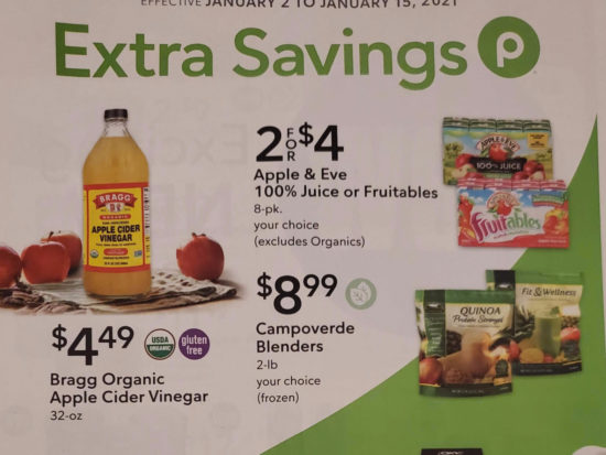 Publix Extra Savings Flyer, 1/2 to 1/15 on I Heart Publix