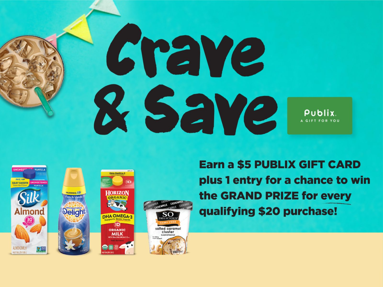 Keep Earning Publix Gift Cards With The Crave & Save Program on I Heart Publix