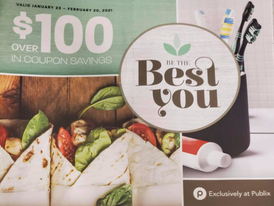 Be The Best You Booklet For 2021 - Coupons Valid 1/23 - 2/20 on I Heart Publix