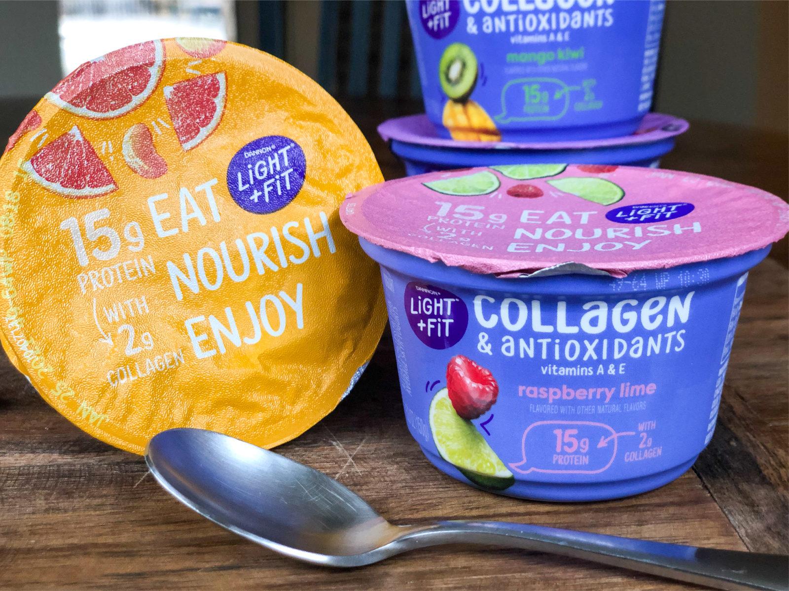 Dannon Light & Fit Collagen & Antioxidants Yogurt Just 75¢ At Publix on I Heart Publix 1