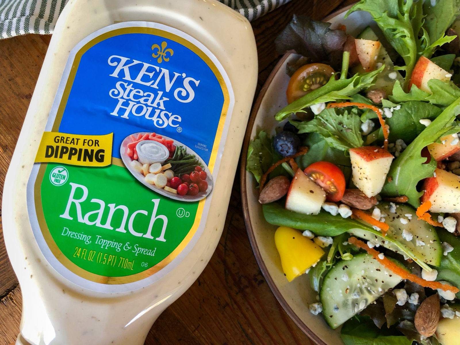 Big Bottles Of Ken's Steak House Dressing Just $1.50 At Publix on I Heart Publix