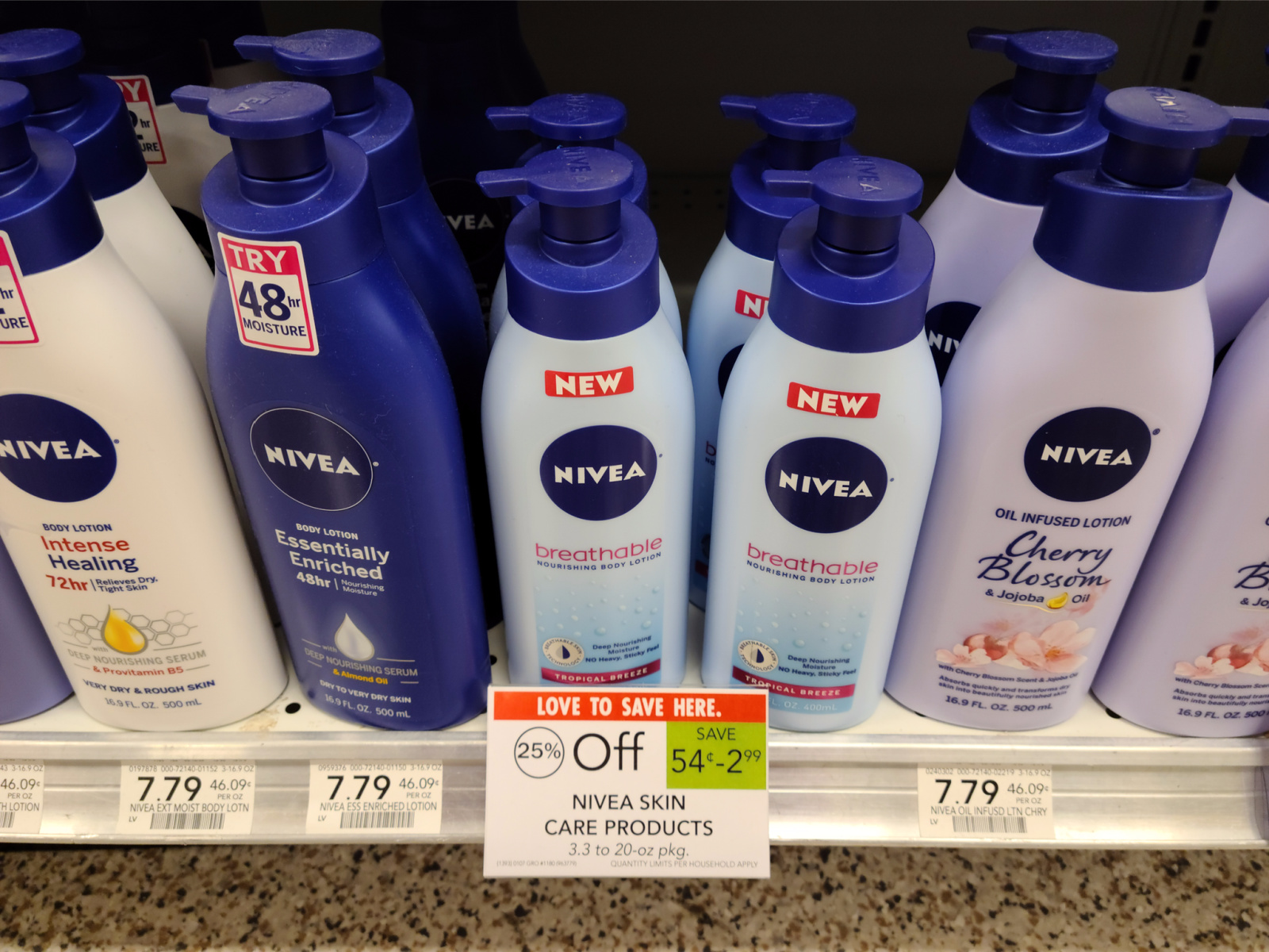 Nivea Breathable Body Lotion Just 84¢ At Publix on I Heart Publix