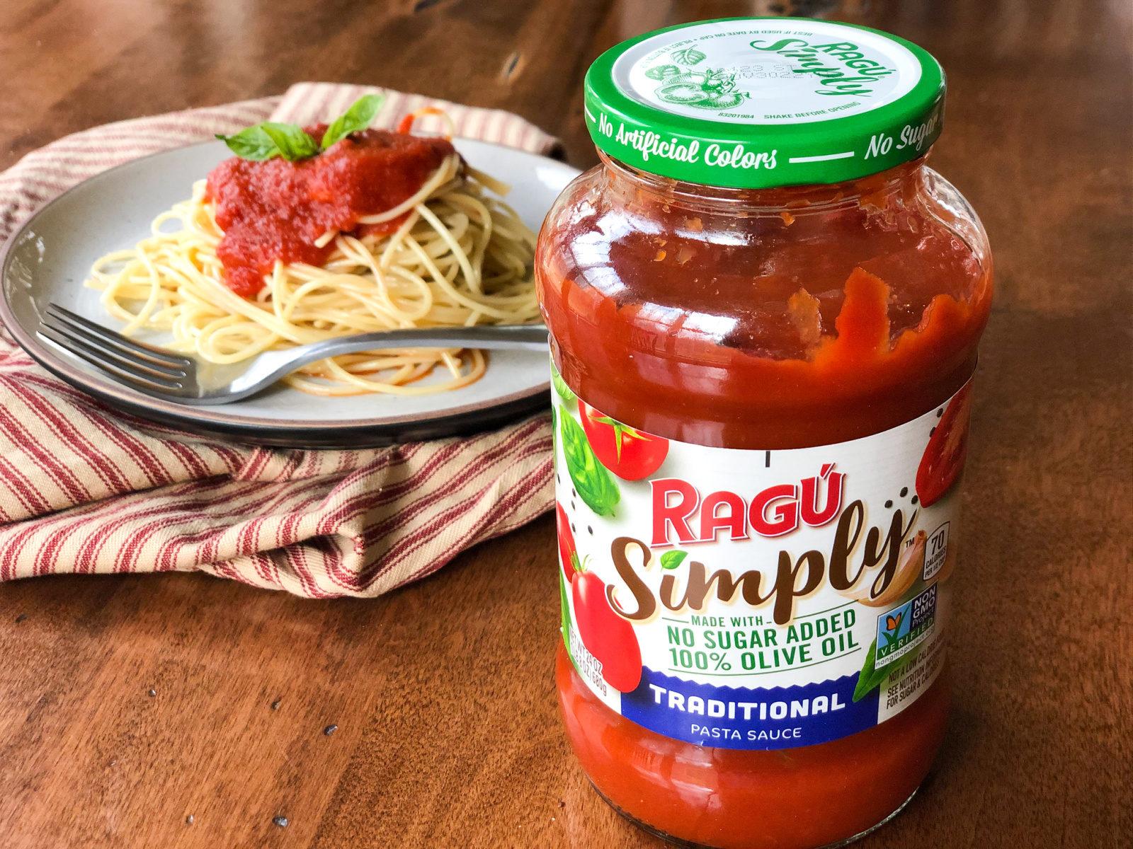 Ragu Pasta Sauce As Low As 52¢ At Publix on I Heart Publix
