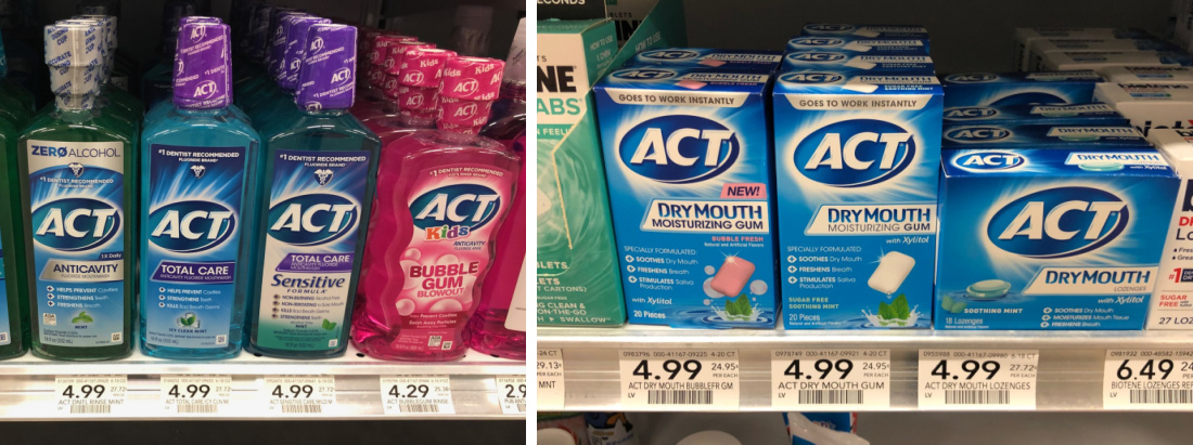 Act Mouthwash As Low As $1.99 At Publix - Less Than Half Price! on I Heart Publix