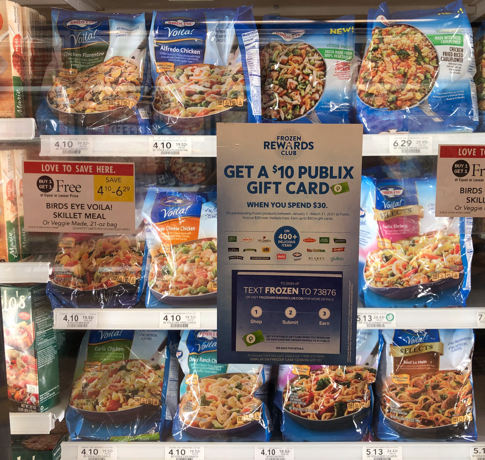 The Frozen Rewards Club Has Returned For 2021 - Earn Up To $50 In Publix Gift Cards! on I Heart Publix 5