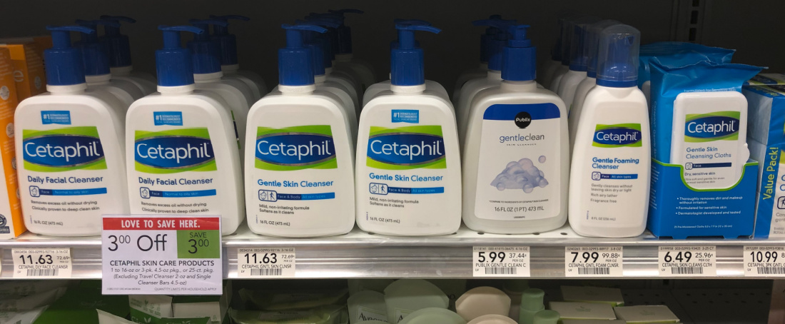 FREE Cetaphil Cleansing Cloths (Plus Super Cheap Cetaphil Lotion) on I Heart Publix
