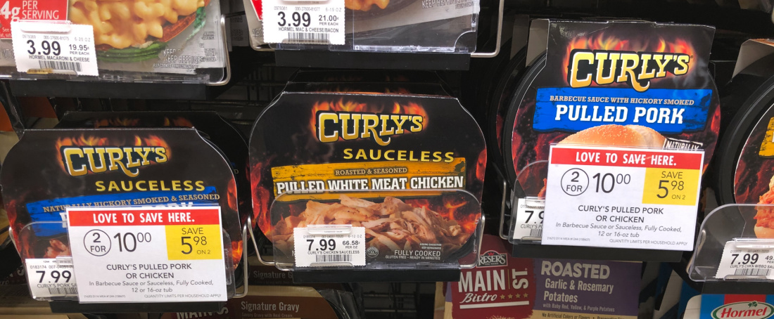Get Your Favorite Curly's Pulled Meats For Just $3.50 At Publix on I Heart Publix