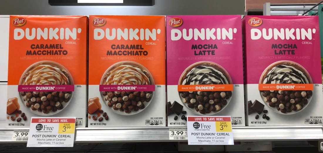Post Dunkin' Cereal Just $1.50 Per Box At Publix on I Heart Publix 1