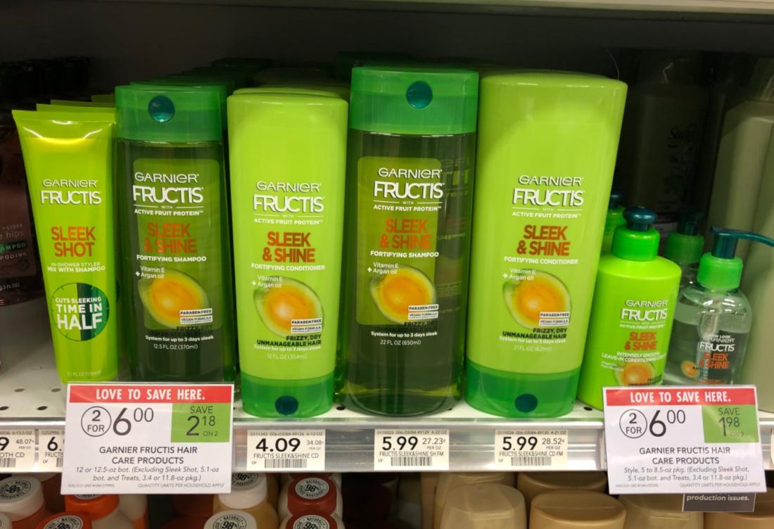 Garnier Fructis Hair Care Only $1.50 Per Bottle At Publix on I Heart Publix 3