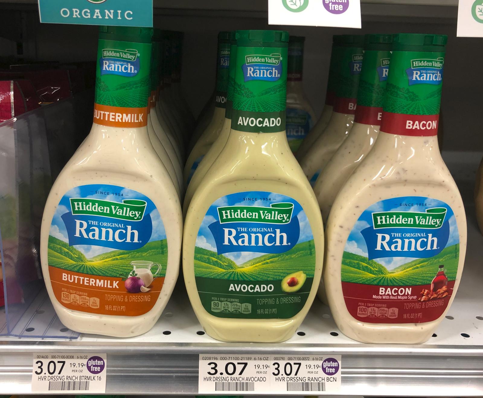 Hidden Valley Ranch Dressing Just $1.04 Per Bottle At Publix on I Heart Publix