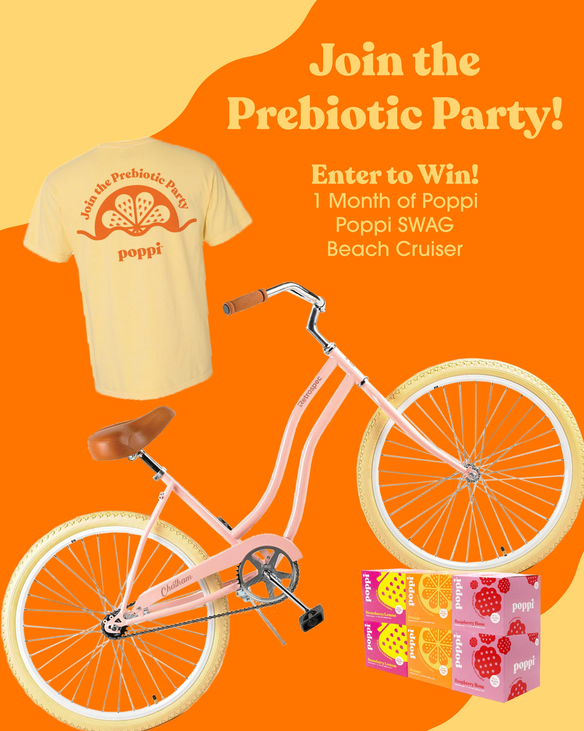 Poppi Prebiotic Soda Is Now Available At Publix + Enter To Win A Fabulous Prize Pack! on I Heart Publix