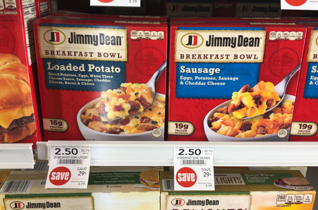 Jimmy Dean Breakfast Bowls Only $1.75 At Publix on I Heart Publix