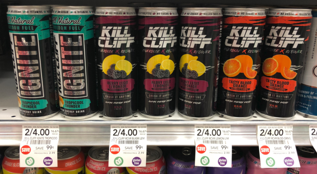 Kill Cliff Ignite or Recover Energy Drinks Are FREE At Publix on I Heart Publix
