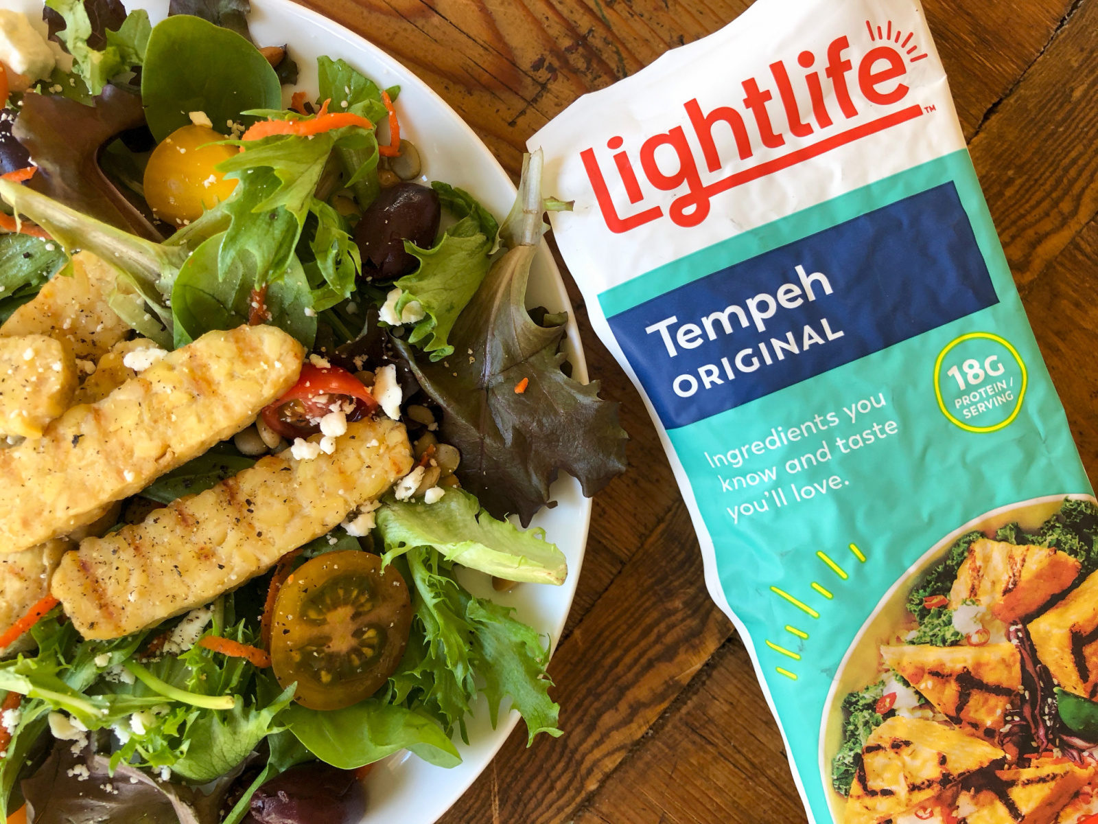 Lightlife Organic Soy Tempeh Just $1.99 At Publix (Half Price!) on I Heart Publix 1
