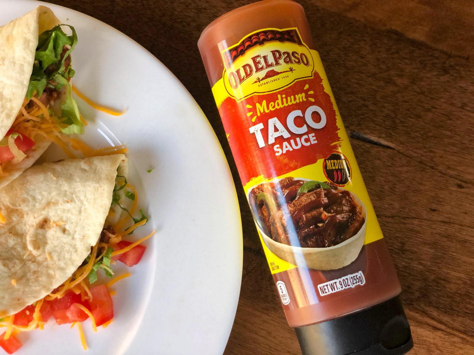 Old El Paso Taco Sauce Just 85¢ At Publix on I Heart Publix