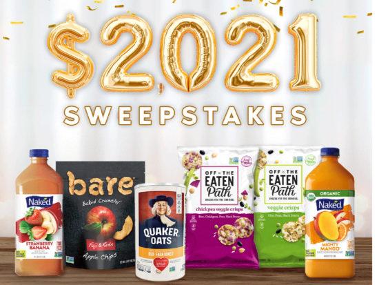 PepsiCo Tasty Rewards Sweepstakes - Enter To Win $2,021 on I Heart Publix 1