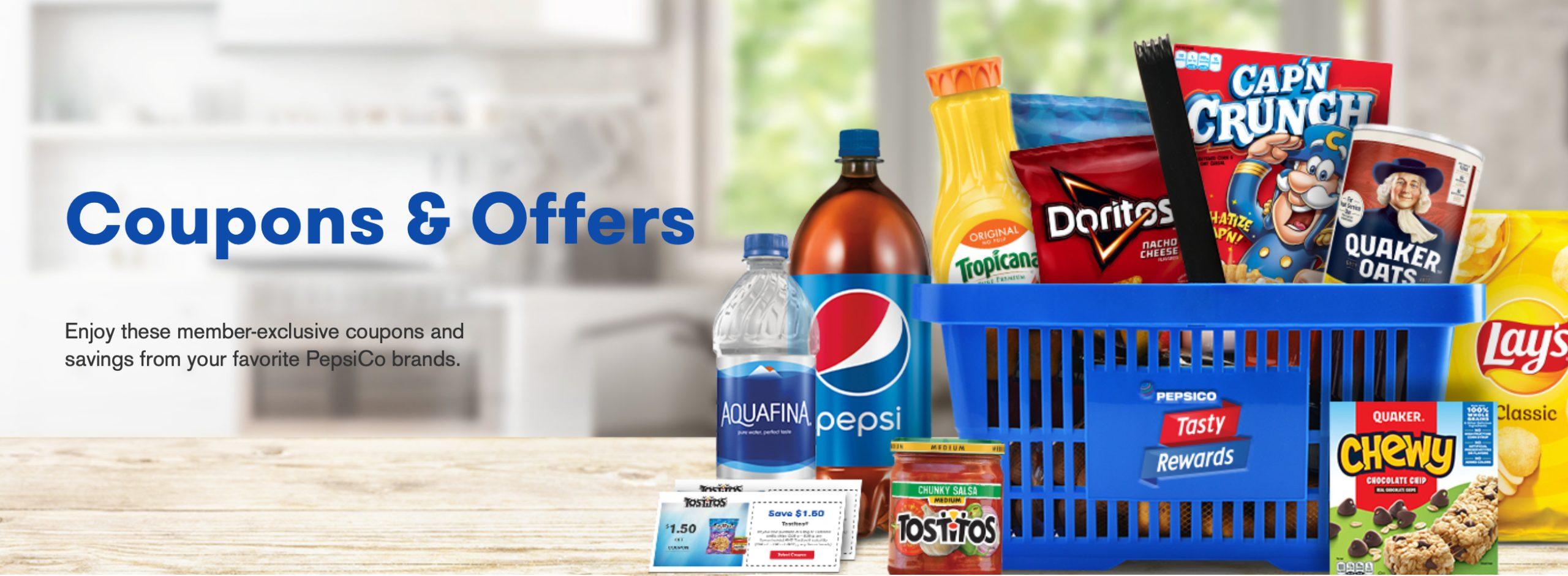 PepsiCo Tasty Rewards Sweepstakes - Enter To Win $2,021 on I Heart Publix