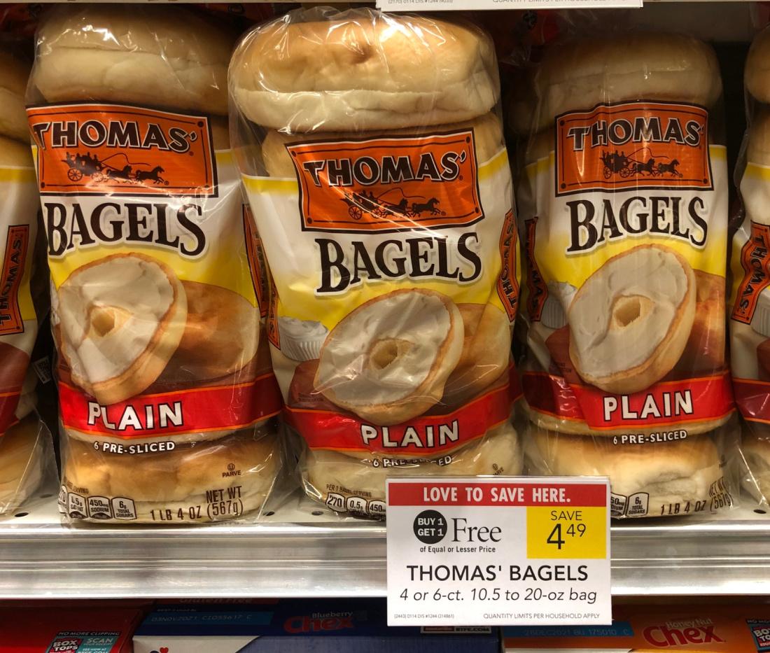 Thomas' Bagels Just $1.75 At Publix on I Heart Publix