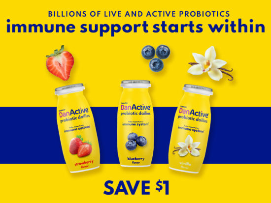Start Your Day With Delicious DanActive Probiotic Drink & Save At Publix on I Heart Publix 1