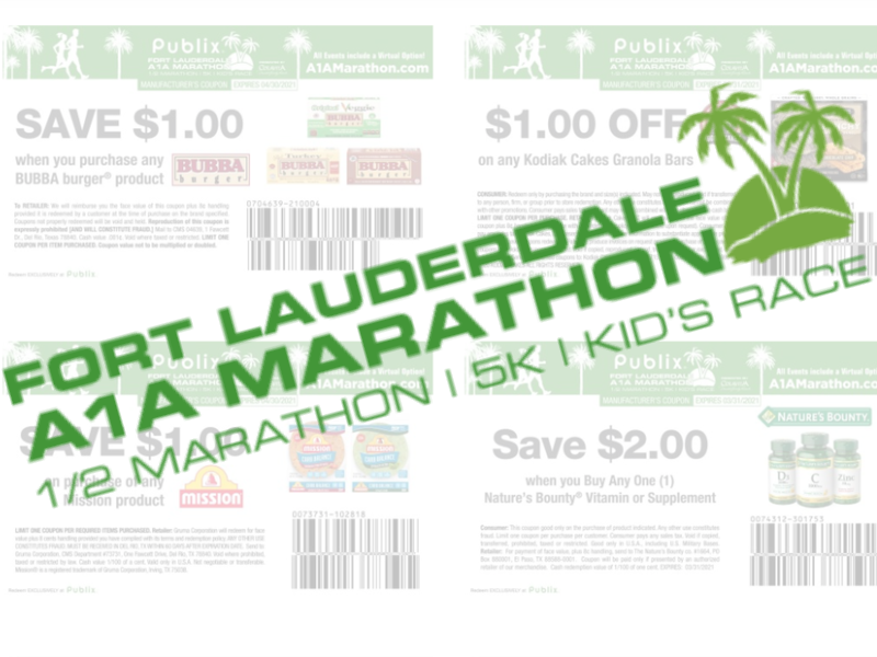 New A1A Marathon Coupons - Nice Deal On Mission Tortillas In Upcoming Publix Ad on I Heart Publix 1