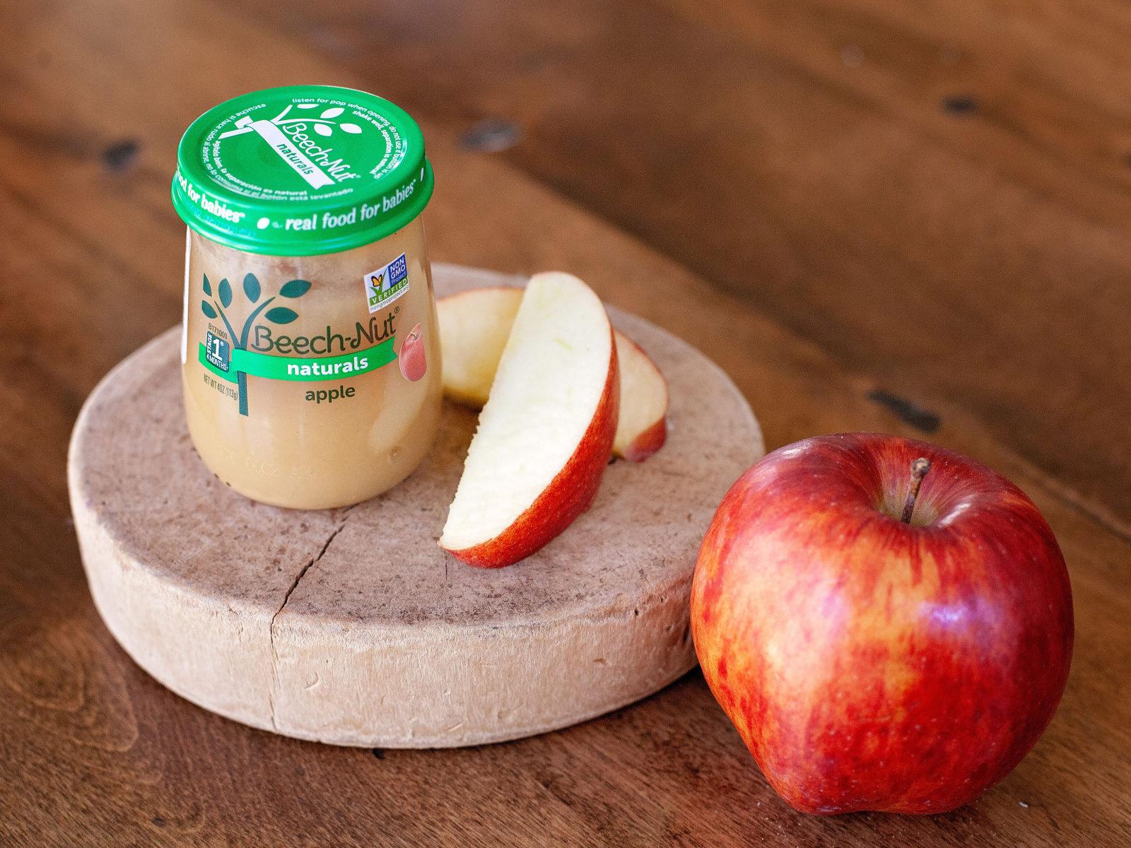 Beech-Nut Naturals Jars Just 49¢ At Publix (Half Price) on I Heart Publix