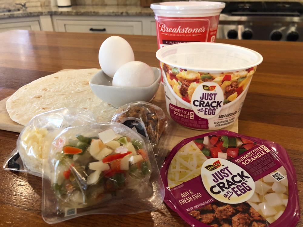 2-Minute Breakfast Burrito on I Heart Publix 1