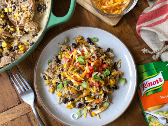 Serve Up Dinner In 15 Minutes With This Cheesy Chicken Fiesta Recipe! on I Heart Publix