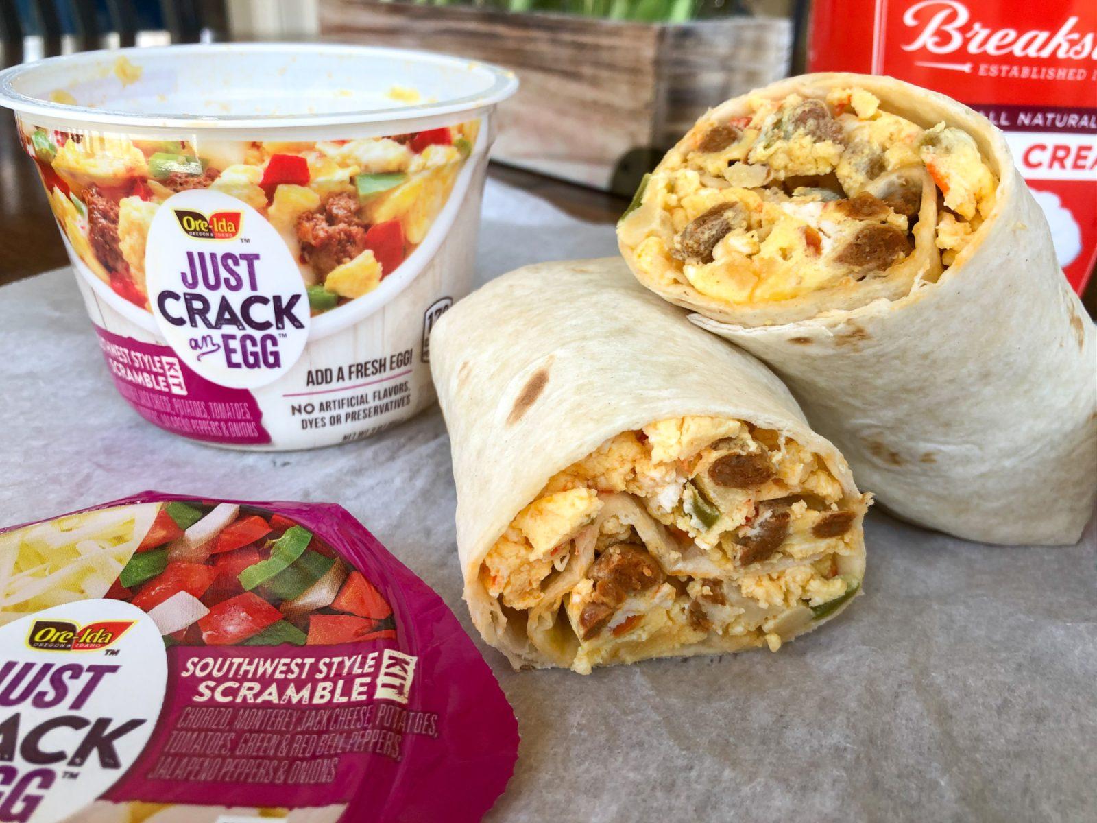 2-Minute Breakfast Burrito on I Heart Publix 2