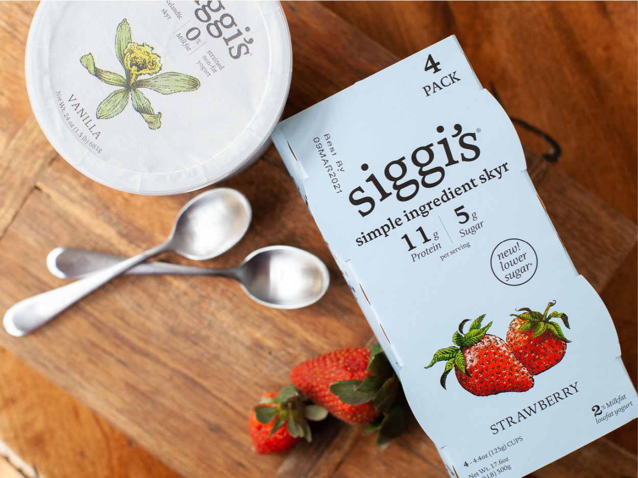 Siggi's Icelandic Style Skyr 4pk Just $1.25 At Publix on I Heart Publix