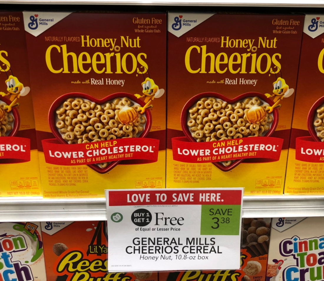 Honey Nut Cheerios As Low As FREE At Publix on I Heart Publix