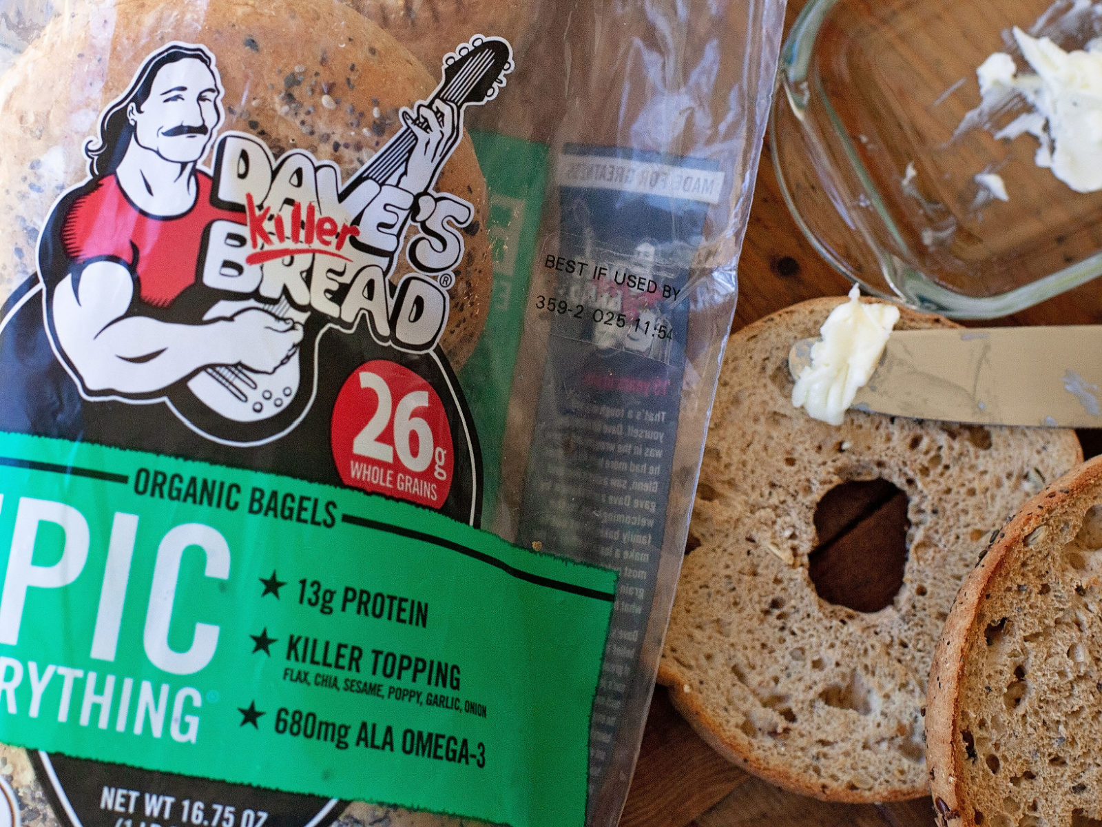 Dave's Killer Bread Organic Bagels Just $2 - Deal Ends Soon! on I Heart Publix