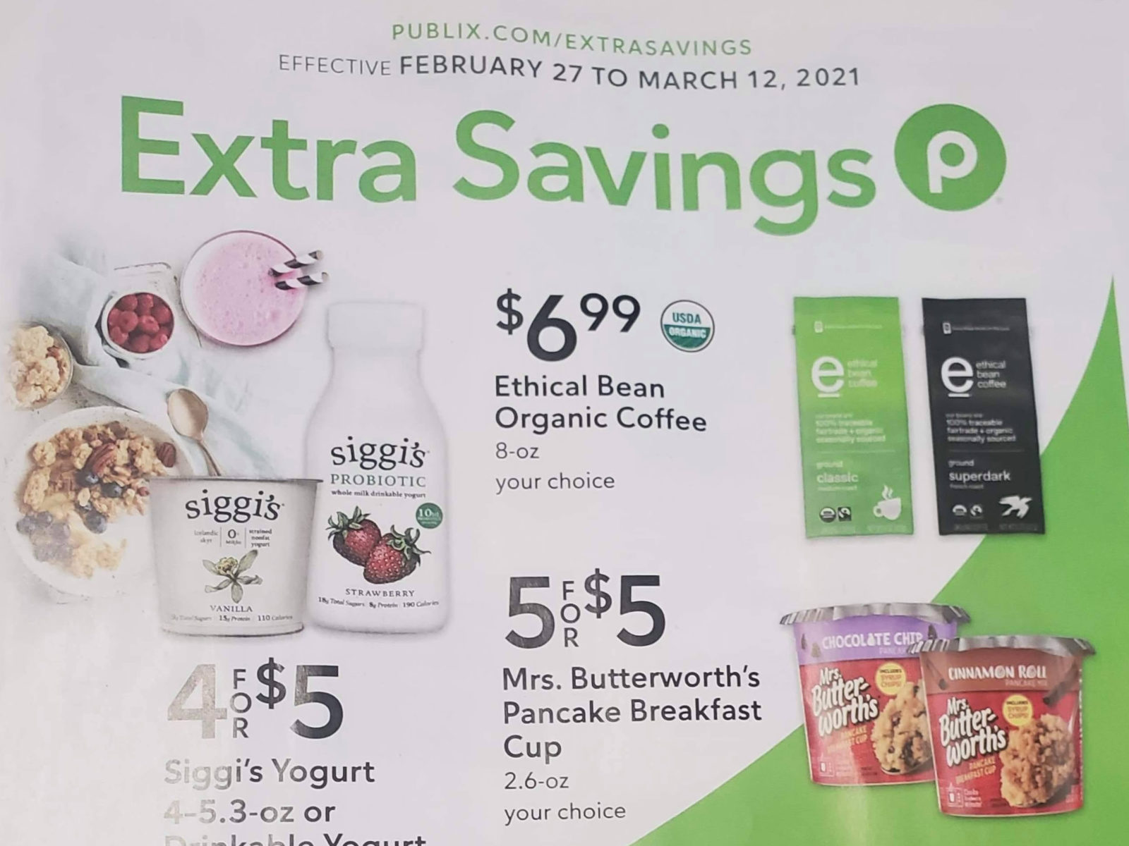 Publix Extra Savings Flyer Valid 2/27 to 3/12 on I Heart Publix
