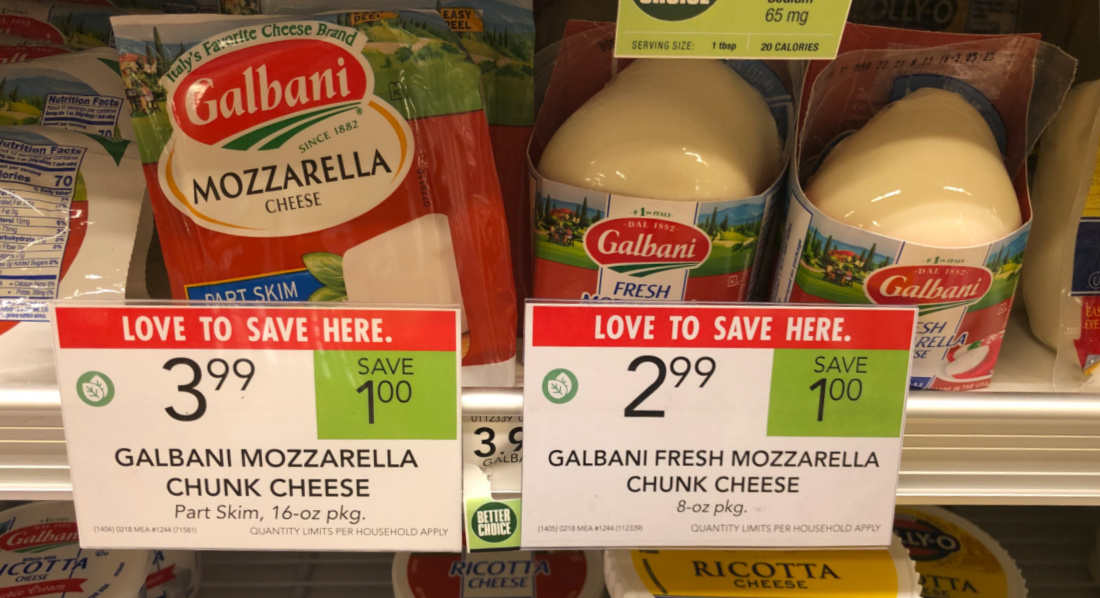 Galbani Fresh Mozzarella Just $1.99 At Publix on I Heart Publix 2