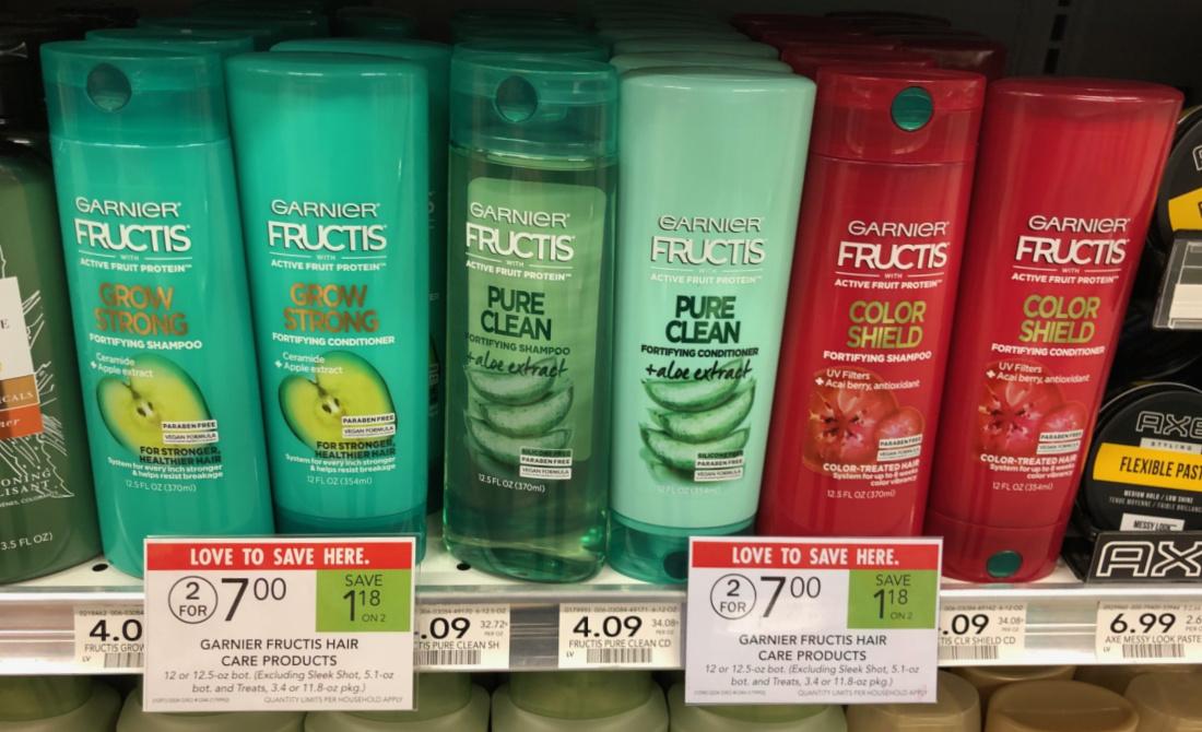 New Garnier Fructis Hair Care Coupon For Publix Sale Just $1.50 Per Bottle At Publix on I Heart Publix