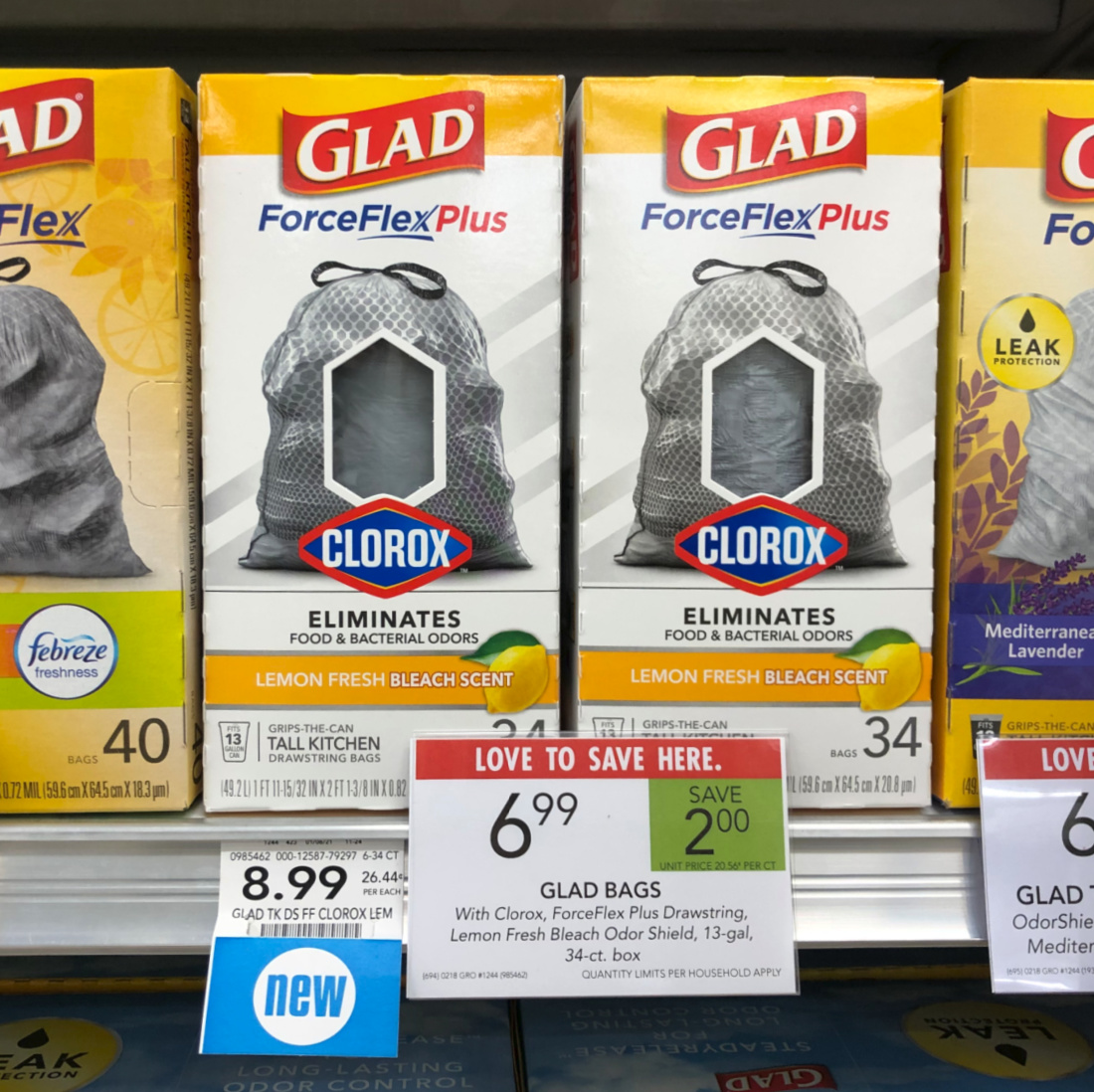 Glad ForceFlexPlus with Clorox Tall Kitchen Bags Just $5.99 At Publix on I Heart Publix