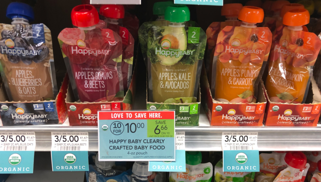 Happy Baby Pouches Only 67¢ At Publix on I Heart Publix 2