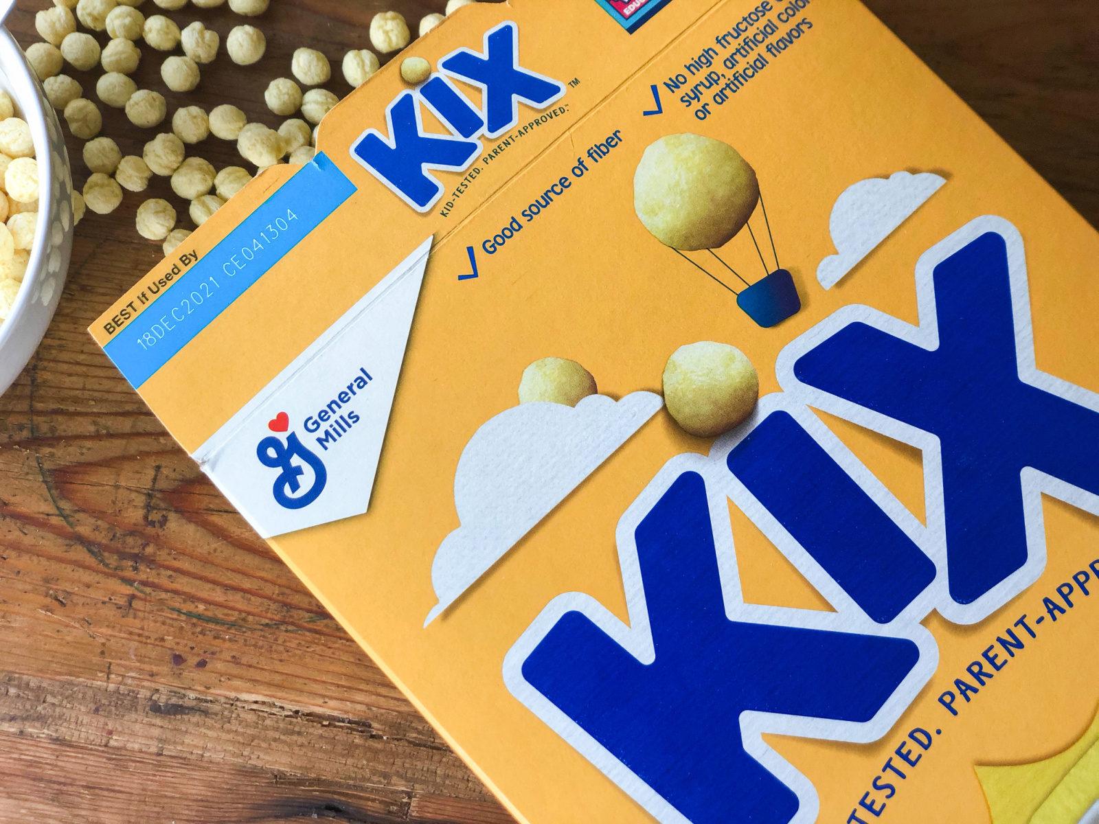 Kix Cereal Just 69¢ Per Box At Publix on I Heart Publix 1
