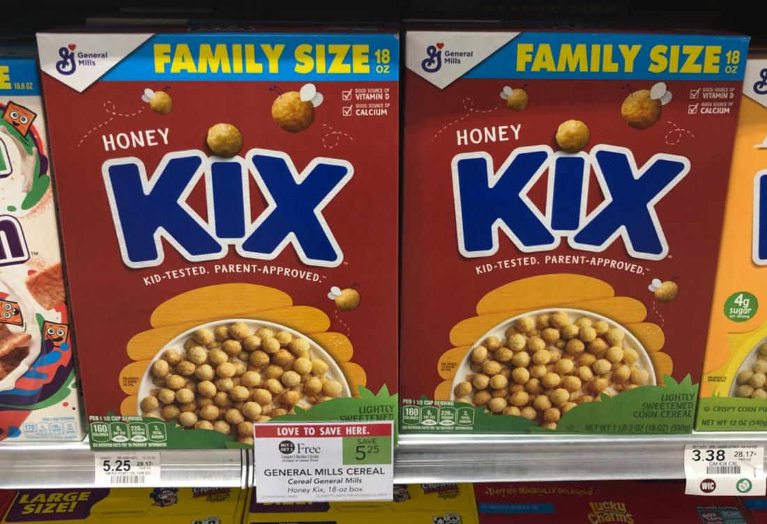 Kix Cereal Just 69¢ Per Box At Publix on I Heart Publix 2