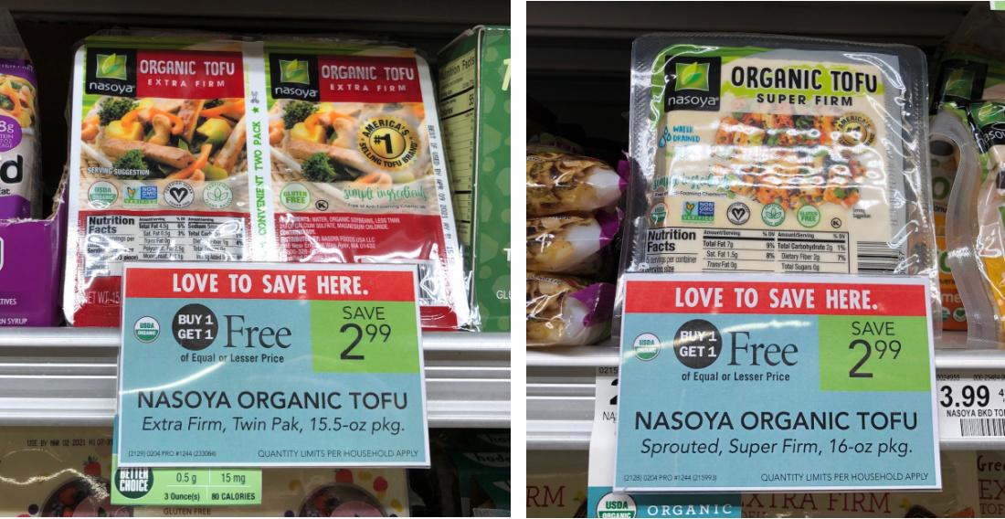 Nasoya Organic Tofu Just $1 At Publix (Plus Cheap Wonton & Egg Roll Wraps) on I Heart Publix 2