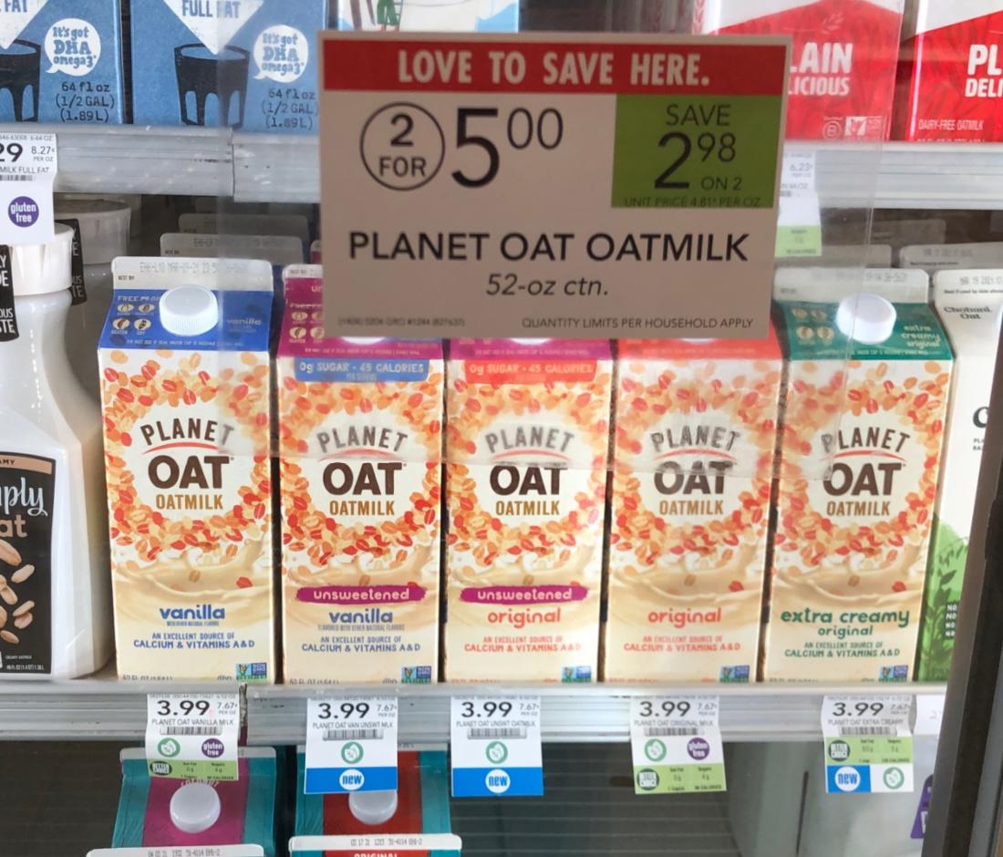 Planet Oat Oatmilk Just 50¢ At Publix on I Heart Publix