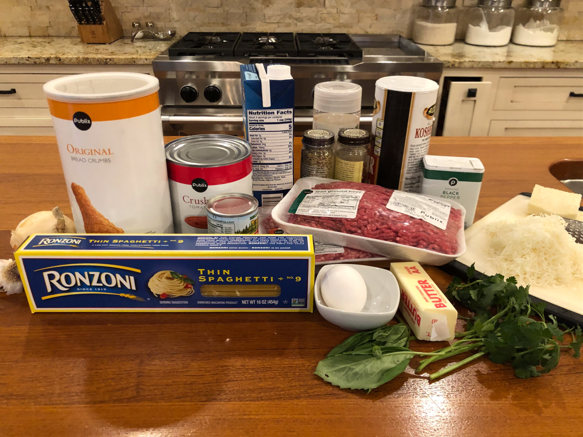 One-Pot Thin Spaghetti And Meatballs - Amazing Recipe To Go With The Ronzoni BOGO Sale! on I Heart Publix 2